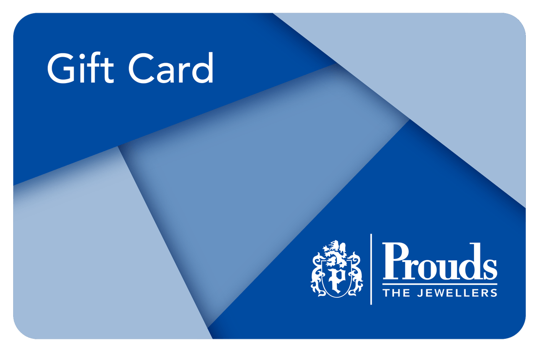 Gift Card. Prouds The Jewellers