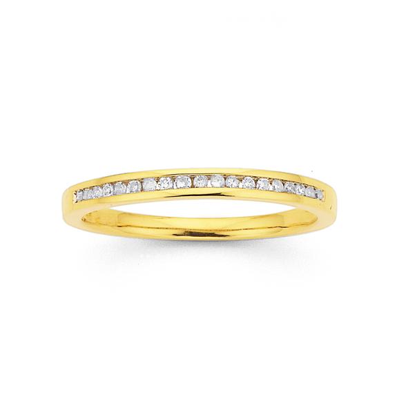 9ct Diamond Ring TDW=.10ct