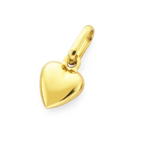 9ct Gold, Heart Charm