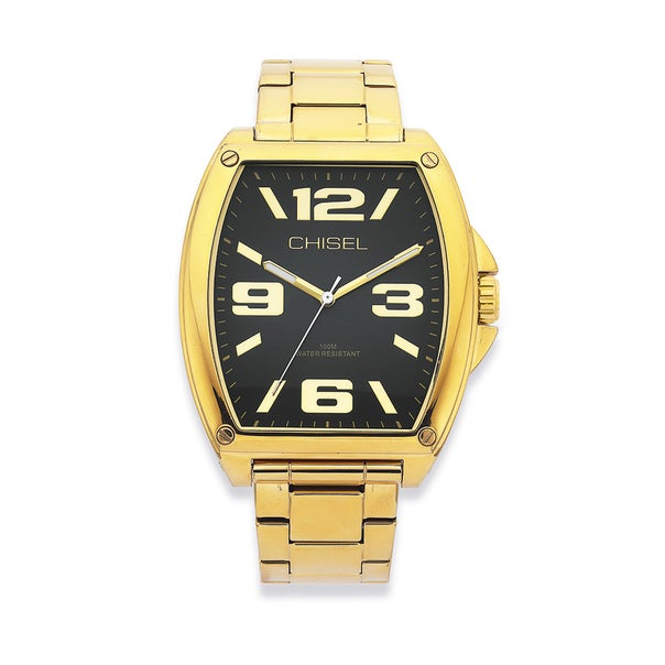 Chisel Gold Tone 100M Water Resistant