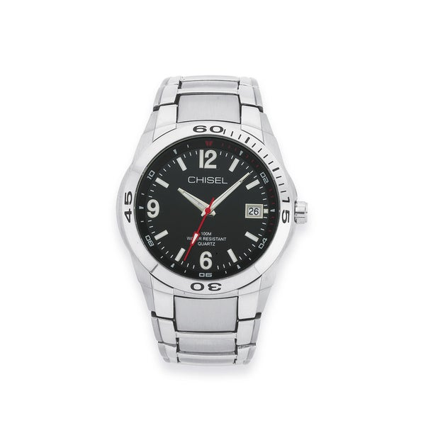Chisel Mens Stainless Steel Watch