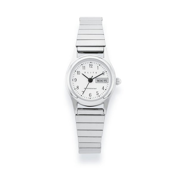 Elite Ladies Watch with Day & Date