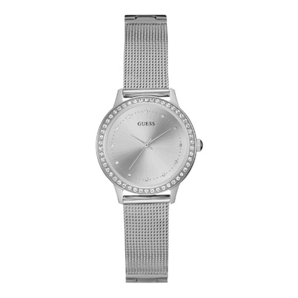 Guess Ladies Silver Tone Chelsea Watch