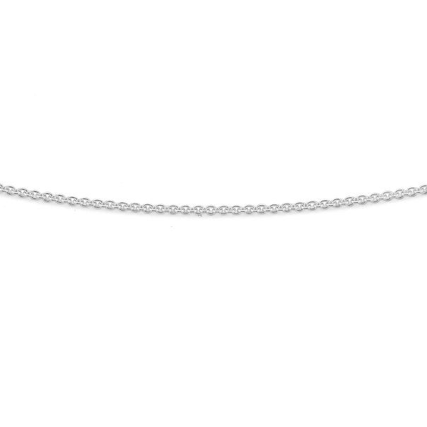 Silver 45cm Rollo Chain