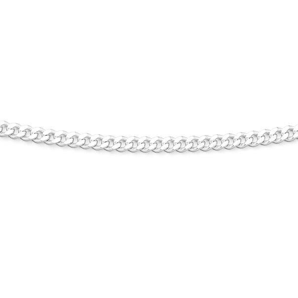 Silver 70cm Curb Chain