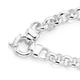 Silver Belcher Bolt Ring Bracelet