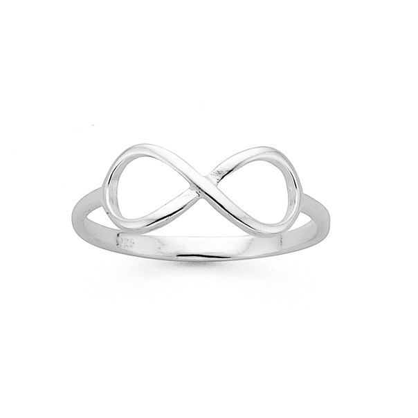 Silver Infinity Dress Ring