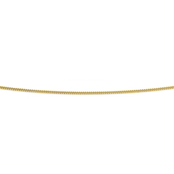 Solid 9ct Gold, 50cm Curb Chain