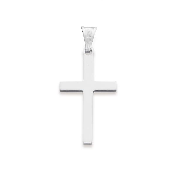 Sterling Silver 20mm Cross Pendant