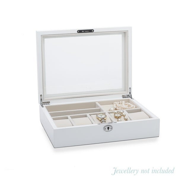 Wooden Jewellery and Watch Box